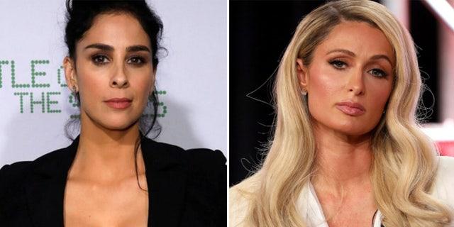 Sarah Silverman apologizes to Paris Hilton for past prison jokes that left hotel heiress 'wanting to die'.jpg