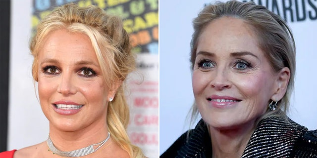 Sharon Stone revealed Britney Spears wrote her a lengthy letter asking for help around the time she shaved her head in 2007.
