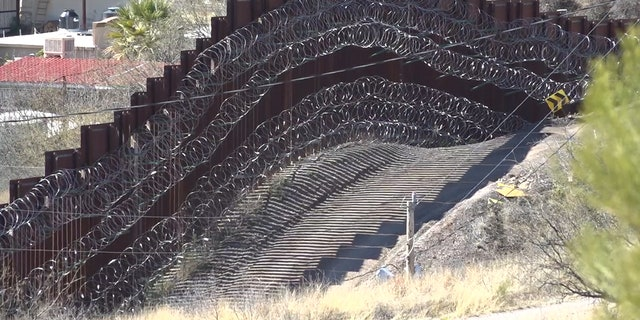 Now that President Biden is in office, Mayor Arturo wants to see some changes starting with removing all the barbed wire around the wall and reopening the borders, but with strict COVID-19 precautions in place. (Stephanie Bennett/Fox News).