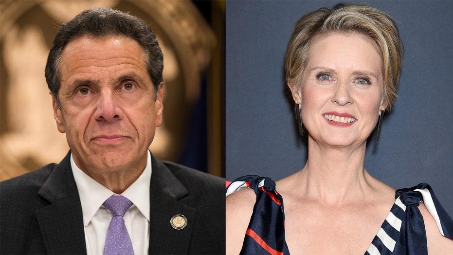 Cynthia Nixon shades Andrew Cuomo over Emmy loss: 'I still have' mine