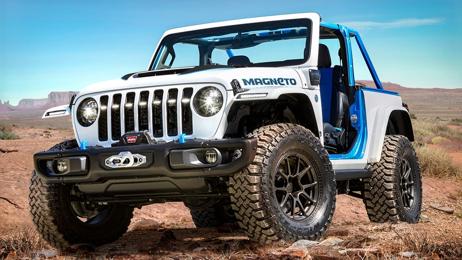 Jeep veep says 'good chance' electric Wrangler is coming in 2023