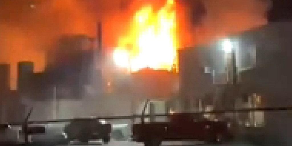 Ohio paint factory blast, fire cause injuries, draw hazmat crew, officials say