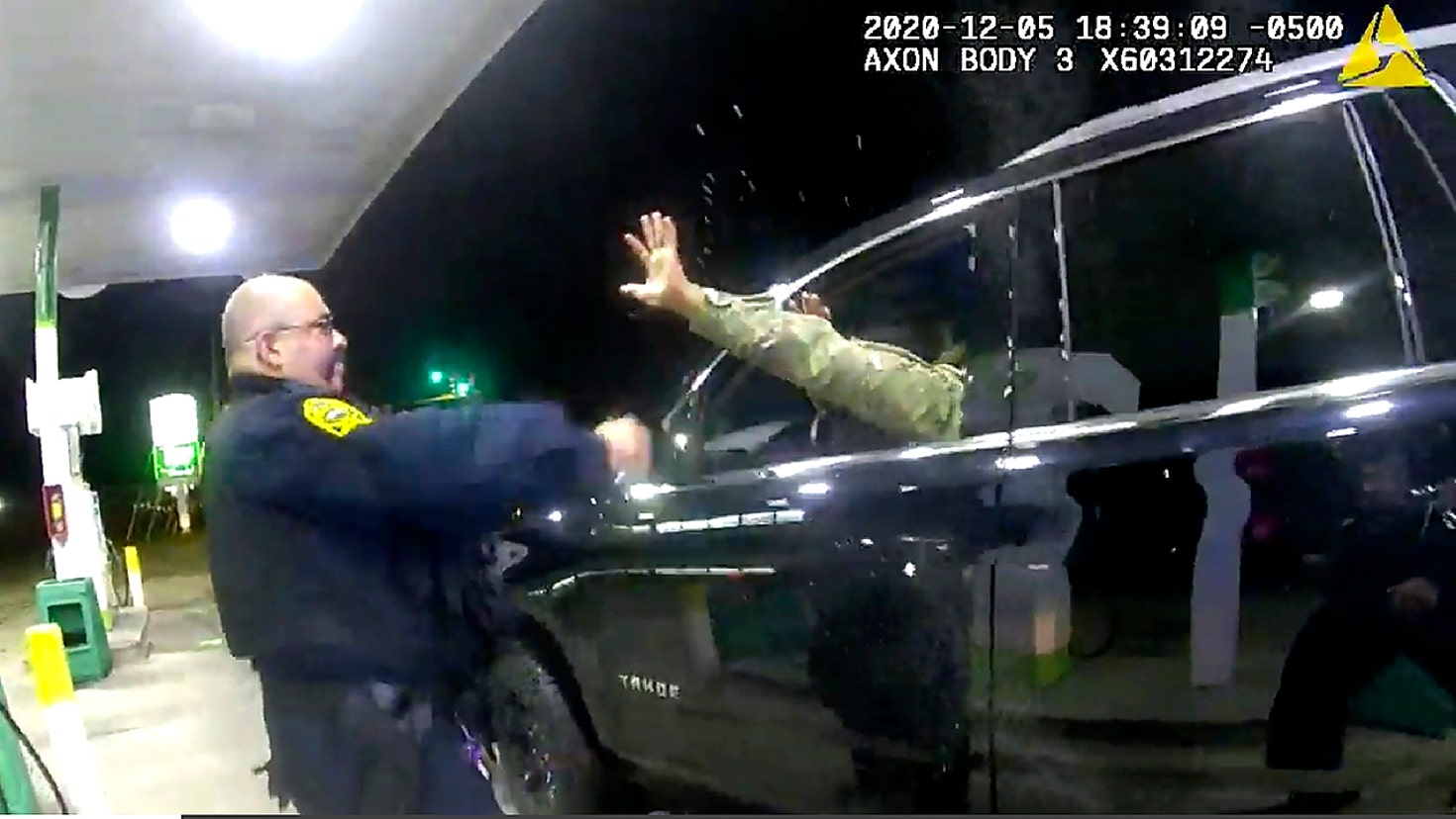 Virginia officer accused of force in stop of a Black Army officer fired