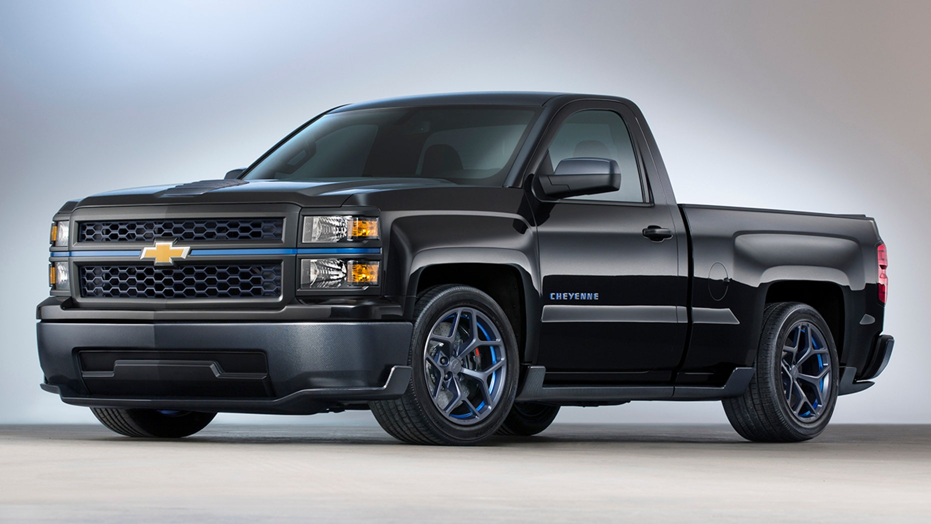 Cheyenne was a concept truck at GM