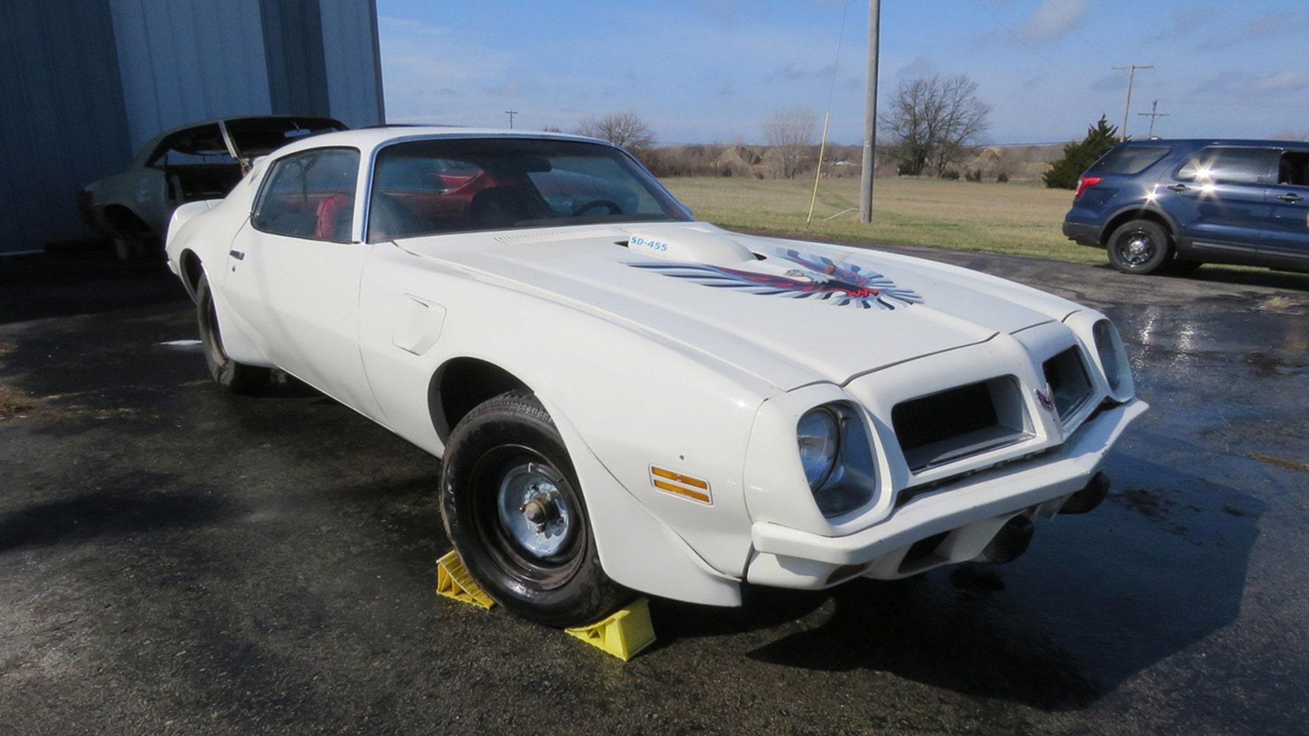 20 classic Pontiac Trans Ams