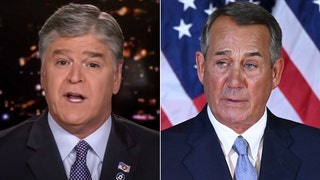 Hannity goes after John Boehner: 'Absolutely useless, no vision, no leadership skills, he accomplished nothing'