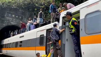 Taiwan train crash: At least 48 killed in deadliest rail disaster in country's history