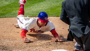 Phillies pitchers dominate again, sweep Braves on Bohm hit