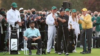 Gary Player says son was 'wrong' for ball controversy at Masters, didn't confirm ban was implemented