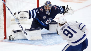 Marner scores 100th NHL goal, Maple Leafs beat Jets 4-1