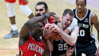 DeMar DeRozan scores 32 points, Spurs beat Pelicans 110-108