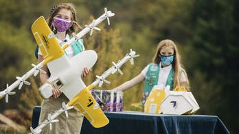 Virginia Girl Scouts are using a drone delivery service to dispatch cookies