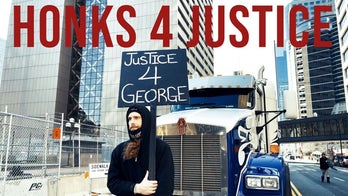 Justice for George Floyd from honking horns?