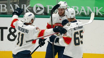 Vatrano's power-play OT goal leads Panthers past Stars 3-2