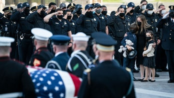 Daughter of fallen Capitol Police officer may long remember Rotunda tribute -- thanks to a toy
