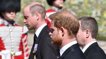Prince Harry, Prince William 'are not talking' despite united front at Prince Philip's funeral: source