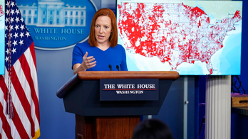 Psaki snaps when asked why VP Harris had time to visit Chicago bakery but not border, 'she got a snack'
