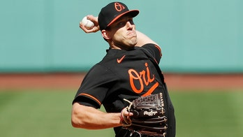 Orioles' Means means business in opener, beats Red Sox 3-0