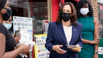 VP Harris visits Chicago bakery even as border crisis escalates