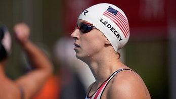Ledecky dominates 1,500 freestyle at California meet