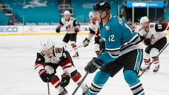 Sharks beat Coyotes 6-4 to snap eight-game losing streak