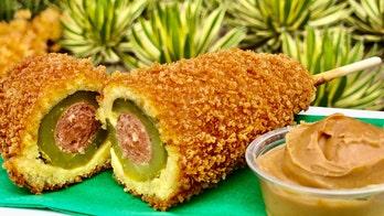 Disneyland's Pickle Corn Dog is the turducken of amusement park foods