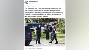 Oregonian newspaper ripped for identifying police shooting victim as White 'in light of social unrest'
