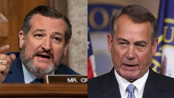 Ted Cruz mocks John Boehner's 'drunken, bloviated scorn'