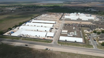 New images show expansion of migrant facility in Donna, Texas as crisis rages