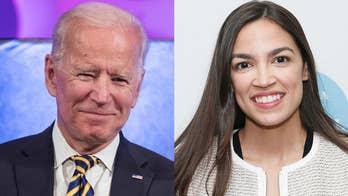 100 days into Biden's 'unity' agenda, AOC praises president's 'progressive' credentials