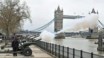 Prince Philip's death marked by gun salutes in UK, at sea