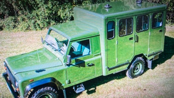 Land Rover 'gun bus' to carry Prince Philip's casket to funeral