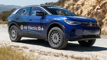 Electric racing Volkswagen ID.4 is the new Baja Bug