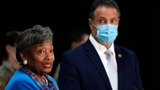 Top NY Dem who said Cuomo should resign appears alongside governor at press conference