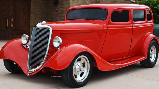 Eddie Van Halen's 1934 Ford is red hot and up for auction