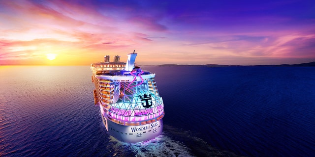 """Royal Caribbean International's new ship, Wonder of the Seas, will be the """"world's largest cruise ship"""" when it sets sail on its inaugural cruise in March 2022."""