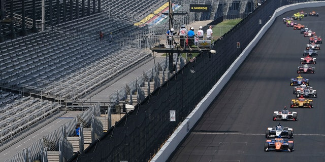 The postponed 2020 Indy 500 was held without fans on Aug. 23