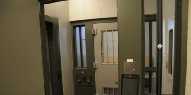 A cell in theAdministrative Control Unit in theMCF-Oak Park Heights facility.