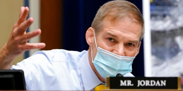 Rep. Jim Jordan, R-Ohio, called for an amendment to the bill during a meeting of the House Judiciary Committee. (AP Photo/Susan Walsh, Pool)