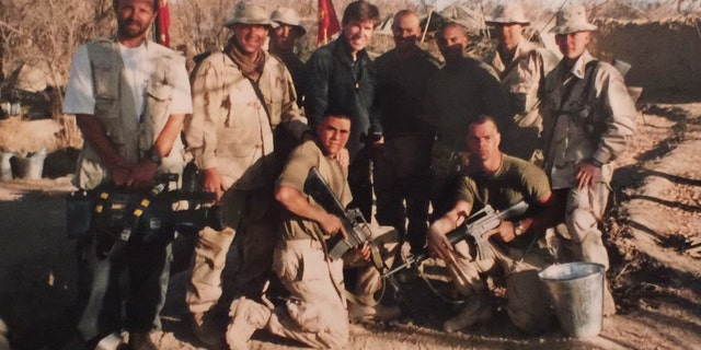With some of the first US troops to arrive in Afghanistan Kandahar December 2001