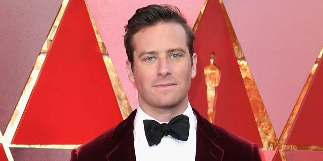 Armie Hammer was accused of rape earlier this year, which he has denied through an attorney.