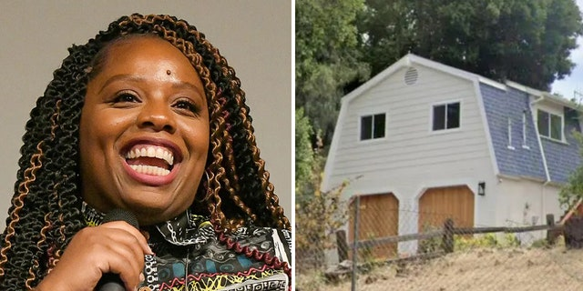 Patrisse Cullors' new home, which features three bedrooms and three bathrooms, is nestled in Topanga Canyon and has a separate guesthouse on the property.