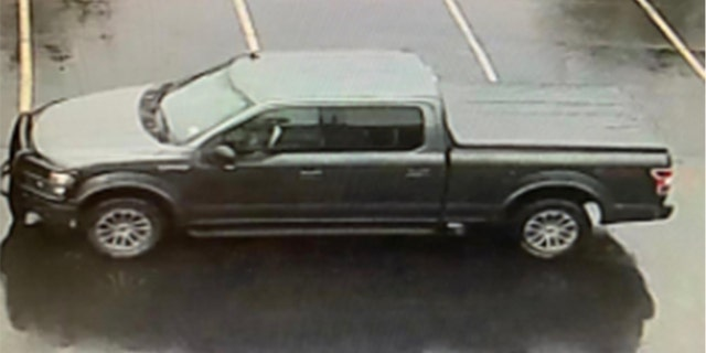 Stewart allegedly fled the scene in this Ford F-150 pickup truck.
