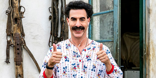 'Borat Subsequent Moviefilm' nabbed two Oscar nominations.