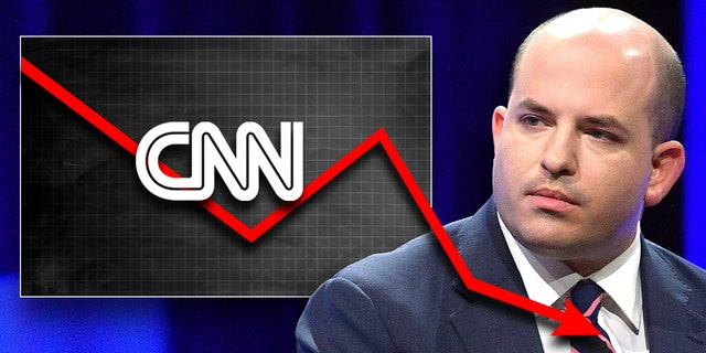 """""""Reliable Sources"""" with Brian Stelter averaged only 810,000 total viewers and a dismal 163,000 among the key demographic of adults age 25-54 on May 2 for its worst performance of the year in both categories. (Matt Winkelmeyer/Getty Images)"""