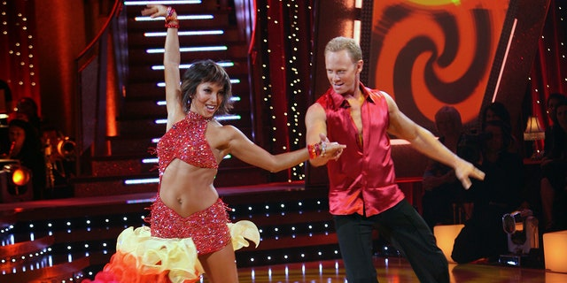 Cheryl Burke and Ian Ziering were partnered together for the fourth season of 'Dancing with the Stars.' They came in fourth place. (Photo by Carol Kaelson/Walt Disney Television via Getty Images)