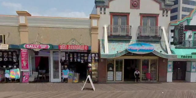 City Souvenirs, one of several businesses owned by Mehmood Ansari's family in Atlantic City.