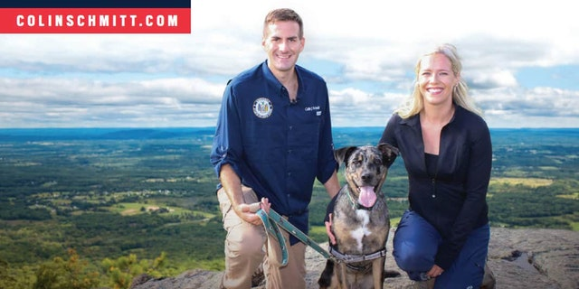 Republican Assemblyman Colin Schmitt of New York State launches a GOP challenge against Democratic Congressional Campaign Committee Chair Rep. Sean Patrick Maloney, on April 6, 2021.