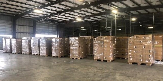 A shipment of counterfeit N95 masks in Houston.