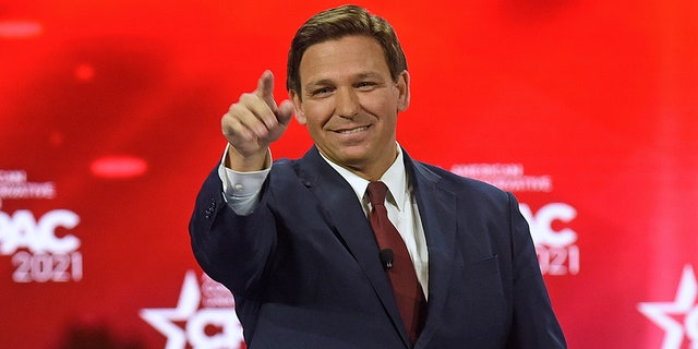 Gov. Ron DeSantis' reputation as a mainstream media bogeyman appears safe for the time being after Wednesday's Associated Press story slammed as a failed hit job. (Photo by Paul Hennessy / SOPA Images/Sipa USA)No Use Germany.